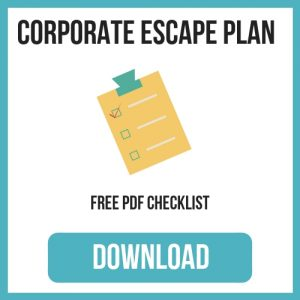 corporate_escape_plan_checklist_sidebar